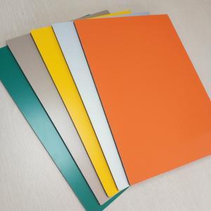 Best Aluminum PVC Composite Wall Panels Prefabricated Building Fire Proof 5mm wholesale