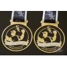 Best Toss Metal Awards Custom Sports Medals Bespoke Design Sublimated Ribbon wholesale