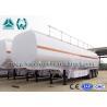 Best 40cbm 60000L Commercial Fuel Tank Semi Trailer Mechanical Suspension wholesale
