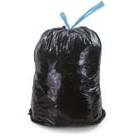 HDPE Material Drawstring Garbage Bags 10 Gallon Environmentally Friendly for sale