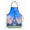 Best La Tour Eiffel Cotton Kitchen Apron wholesale