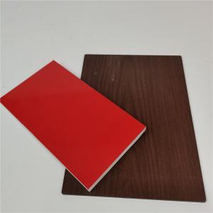 Best Anti - Corrosion Wood Grain Aluminum Composite Panel wholesale