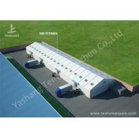Quality 20M Outdoor temporary warehouse tent Aluminum Alloy Profile skylights designed wholesale