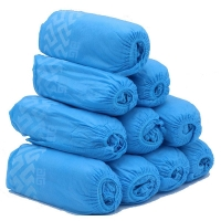 China ISO 13485 Anti Skid 60gsm PP Disposable Shoe Covers for sale