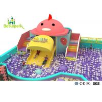 Buy cheap Rainbow Chicks Kids Plastic Indoor Playground With Slide Multi - Functional from wholesalers