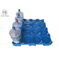 Buy cheap Single Faced 16 Bottles Stackable balance 5 gallon water bottles Plastic Pallet from wholesalers