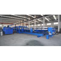 China Electrical Shearing 0.75kw Discontinus 6m Length PU Sandwich Panel Production Line 600 - 1250mm Feeding Width on sale