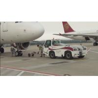 Best Reliable Airport Tow Tractor Four Wheel Steering , Ground Service Equipment wholesale