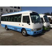 Best Petrol High Roof Long Wheelbase Commercial Utility Coaster Bus For Tourist Use wholesale