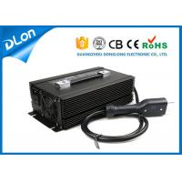 Buy cheap Automatic smart led displayer electric golf cart battery charger for 72v 48v from wholesalers