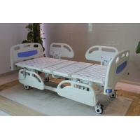 Best Five Functions Electric Hospital Bed with PP side rails , Home Care Beds With Individual Locking Casters wholesale