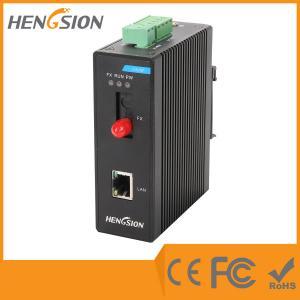 Quality 100M Industrial Managed Ethernet Switch , 1 fiber optic port Dinrail gigabit switch wholesale