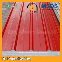 Best Temporary Surface Protection Films And Tapes For PPGI / PPGL Corrugated Roofing Sheet wholesale