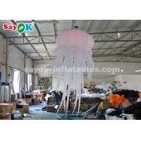 Best Durable Inflatable Hanging Jellyfish For Home / Bar / Concert Light Weight wholesale