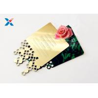 Best Mirror Acrylic Gifts , Acrylic Invitation Card With Custom Shape For Wedding / Party wholesale