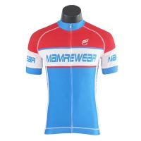 Best Pro Team Mesh Fabric Trek Cycling Jersey / Road Bicycle Clothing Customized wholesale