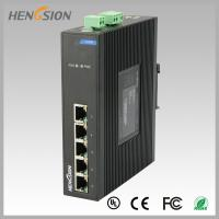 Best Fanless Dinrail Industrial Level Ethernet Network Switch For Plug And Play wholesale