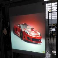 Quality 1.52 * 30M Natural Black 3D Holographic Display For Stage Holo Gram Sample Testing wholesale