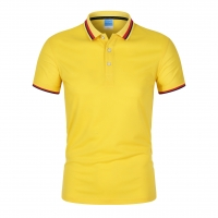 Best Customized Printed Polyester Polo T Shirts Casual  Wholesale Sports Athletic Polo Lapel Collar Shirt wholesale