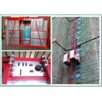 Quality Construction Site Personnel And Materials Hoist Elevator With Safety Hook wholesale