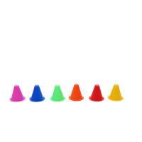 China Mini Dia9cm H5cm Soccer Training Equipment Training Marker Cones for sale