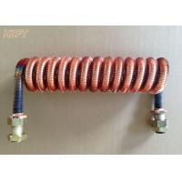 Buy cheap Customized Condenser Coils Liquid Cooling / Finned Coil Heat Exchangers from wholesalers
