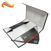 Best Flated Hot Stamping Pattern Luxury Gift Boxes Printed Packaging Boxes Embossed wholesale
