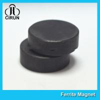 Best Y30BH Disc Shape Ferrite Magnet , Round Disk Magnets Dia 18mm * 5mm wholesale