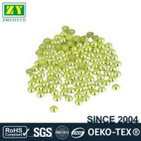 Best High Color Accuracy Flat Back Metal Studs Good Stickness With Even Shinning Facets wholesale