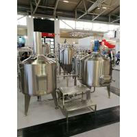 Best 200L Craft Commercial Micro Brewing Equipment For Brewpub Or Restaurant wholesale