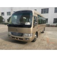 Quality Luxury Coaster Mini Bus / Diesel Coaster Vehicle Auto With ISUZU Engine JAC Chassis wholesale