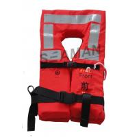 Buy cheap Orange Naval Adult Boat Marine Life Jacket Lifesaving Lifevest EC / RINA / GL from wholesalers