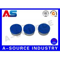 Buy cheap Glass Vial Aluminum Cap With Rubber Stopper For 10ml / 2ml Bottles from wholesalers