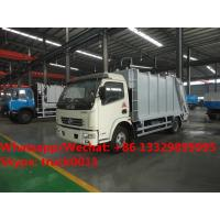 Best HOT SALE! 2018s best seller-dongfeng 4*2 LHD 7m3 compression garbage compactor truck, garbage truck for Mongolia wholesale
