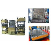 China 42kw Hot Press Rubber Brake Pad Making Machine With Automatic Changeable Pressure on sale