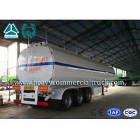 Best 54 m3 High Performance road tank semi trailer  For Oil Carrying 55 Tons - 75 Tons wholesale