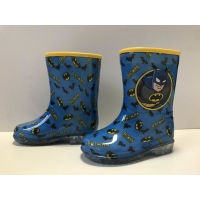 China Lovely Practical Handle OEM Boys Disney Rain Boots PVC Waterproof for sale