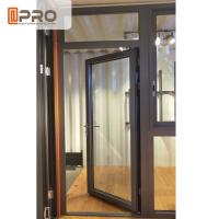 Best Customized Design Aluminium Hinged Doors For Construction Buildings wholesale