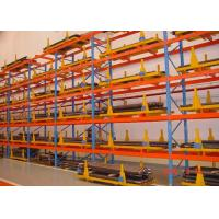 Best Heavy Duty Sheet Metal Pallet Warehouse Racking 1000 - 10000mm Length wholesale