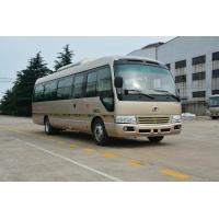 Quality 7M Toyota Coaster Mini Bus Front Cummins Engine Euro 3 Semi - Integral Body wholesale