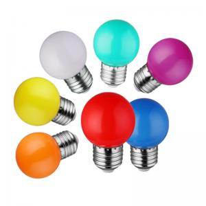 Best SKD Colorful Global 1W Indoor LED Bulbs For Christmas Holiday wholesale