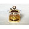 Arabia Exquisite Imitation metal base Louhua Roses Sugar bowl