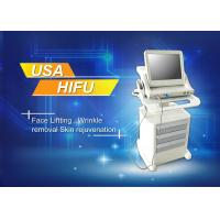 Best Wrinkel Removal High Intensity Focused Ultrasound HIFU Machine For Beauty Salon wholesale