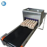 Best Touch Screen Egg Spraying Machine , Egg Printer Machine 6 Nozzles wholesale