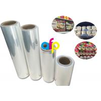 Best Cookie Packing Polyolefin Shrink Film High Transparency Fine Luster wholesale
