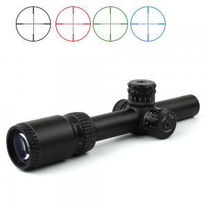 Buy cheap Military Equipment Ar15 Optic Hunting Rifle Scopes 1-6x20 Three Colors Illuminated Telescopic Sight from wholesalers