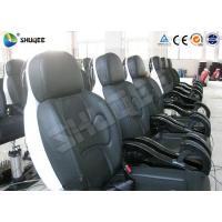 Best Genuine PU Leather Movie Theater Seat Dynamic For 5D Cinema System wholesale