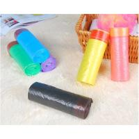 China HDPE Packaging Home Garbage Bags , Drawstring Trash Can Liners Customized Size for sale