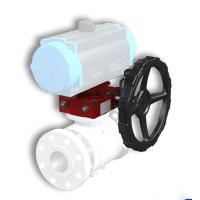 China Customizable Cast Aluminium Ball Valve Gearbox Protection Rating Ip 65 for sale
