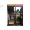 Best Sound Proof Aluminium Sliding Windows / Doors Low - E Glass AS2047 Cetification wholesale